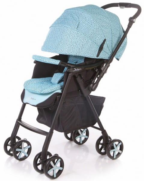 Купить Коляска прогулочная Jetem Graphite Blue в интернет магазине игрушек и детских товаров
