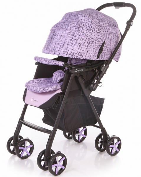 Купить Коляска прогулочная Jetem Graphite Purple в интернет магазине игрушек и детских товаров