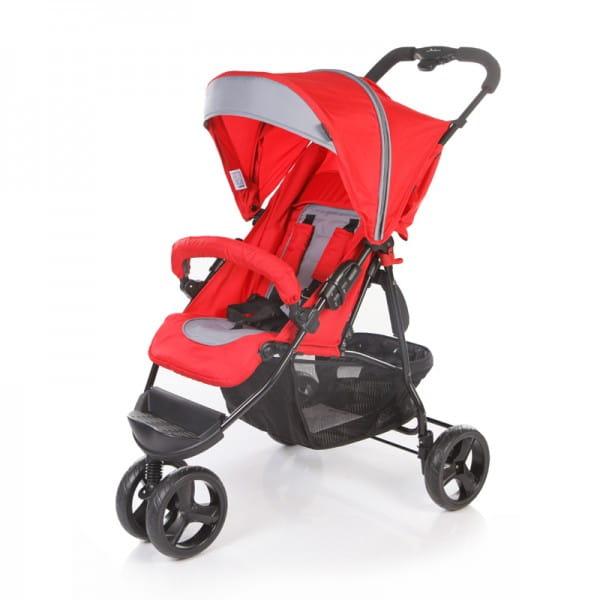 Купить Коляска прогулочная Jetem Mira Lite Red-Dark Grey в интернет магазине игрушек и детских товаров