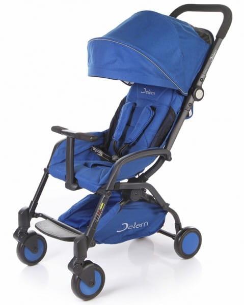 Купить Коляска прогулочная Jetem Muzzy Blue в интернет магазине игрушек и детских товаров