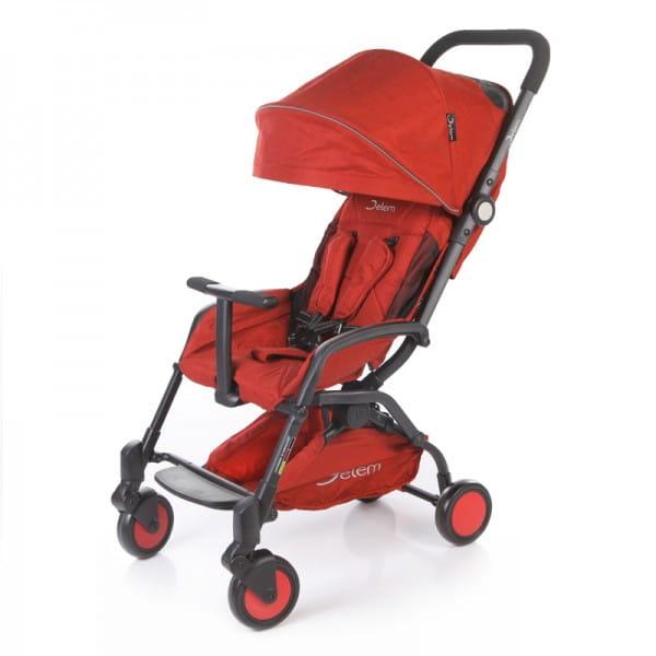 Купить Коляска прогулочная Jetem Muzzy Red в интернет магазине игрушек и детских товаров