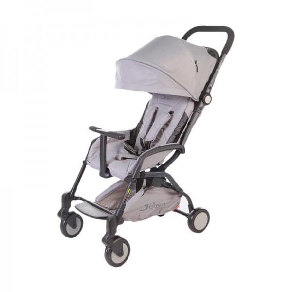 Купить Коляска прогулочная Jetem Muzzy Grey в интернет магазине игрушек и детских товаров
