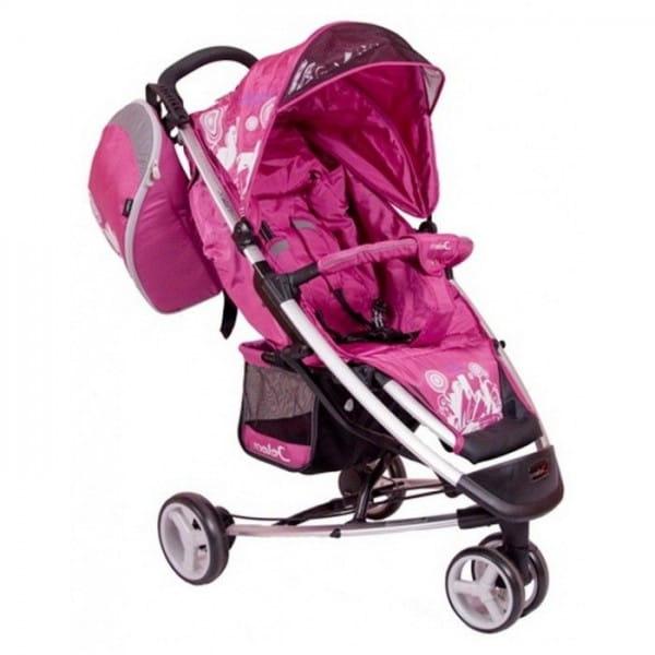 Купить Коляска прогулочная Jetem Sydney Pink в интернет магазине игрушек и детских товаров