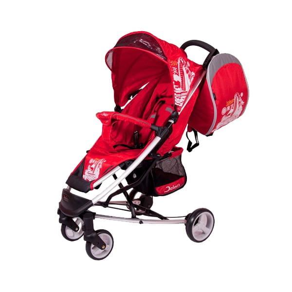 Купить Коляска прогулочная Jetem Tokyo Red в интернет магазине игрушек и детских товаров