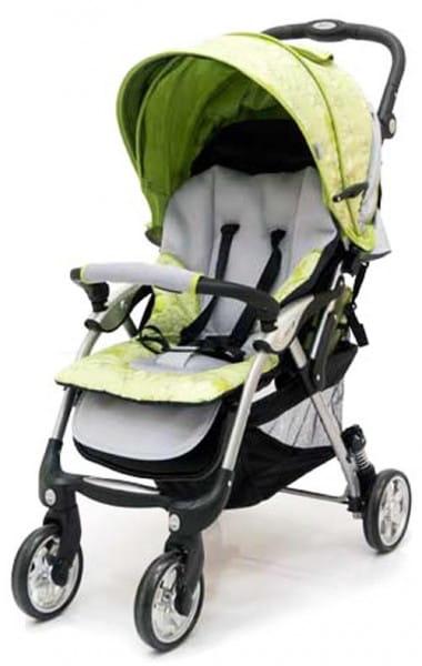Купить Коляска прогулочная Jetem Tourneo Flover Green-Light Grey в интернет магазине игрушек и детских товаров