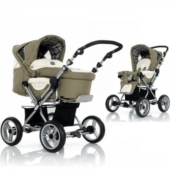 Купить Коляска-трансформер Jetem Pramy Luxe Ranger в интернет магазине игрушек и детских товаров