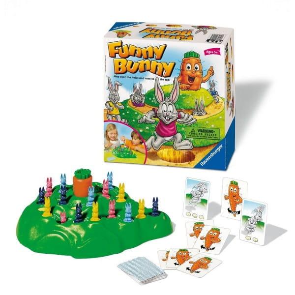 Настольная игра Ravensburger Выдерни морковку (Funny Bunny)