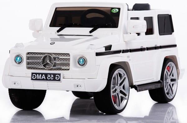 Электромобиль Kids Cars Mercedes Benz G55 AMG White Гелендваген