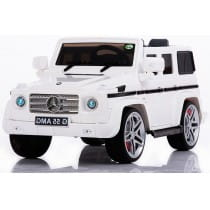 Электромобиль Kids Cars Mercedes Benz G55 AMG White Гелендваген