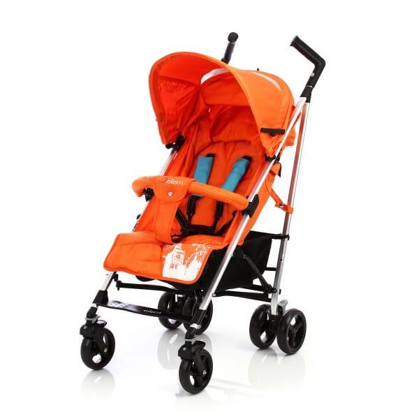 Купить Коляска-трость Jetem London Orange в интернет магазине игрушек и детских товаров