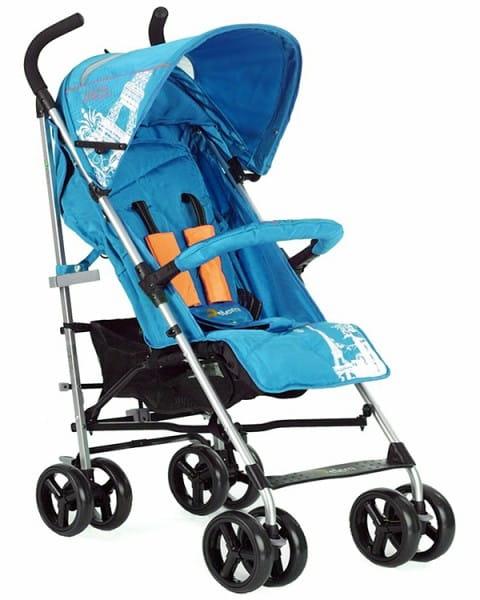 Купить Коляска-трость Jetem Paris Lake Blue в интернет магазине игрушек и детских товаров