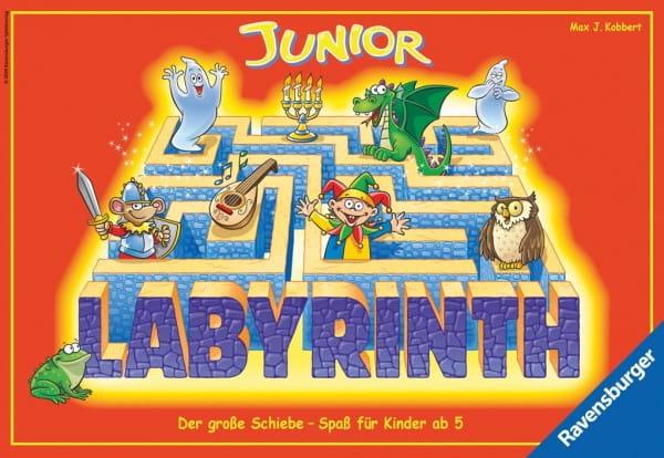 Купить Настольная игра Ravensburger Лабиринт Джуниор (Labyrinth Junior) в интернет магазине игрушек и детских товаров