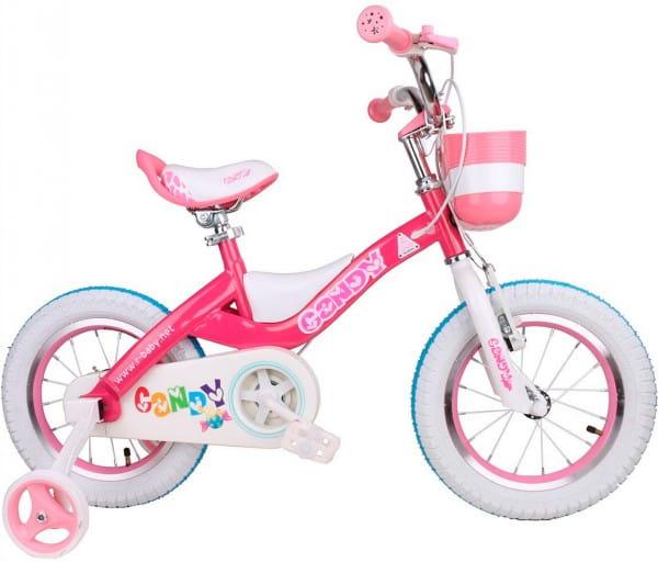 Купить Детский велосипед Royal Baby Candy Steel - 14 дюймов в интернет магазине игрушек и детских товаров