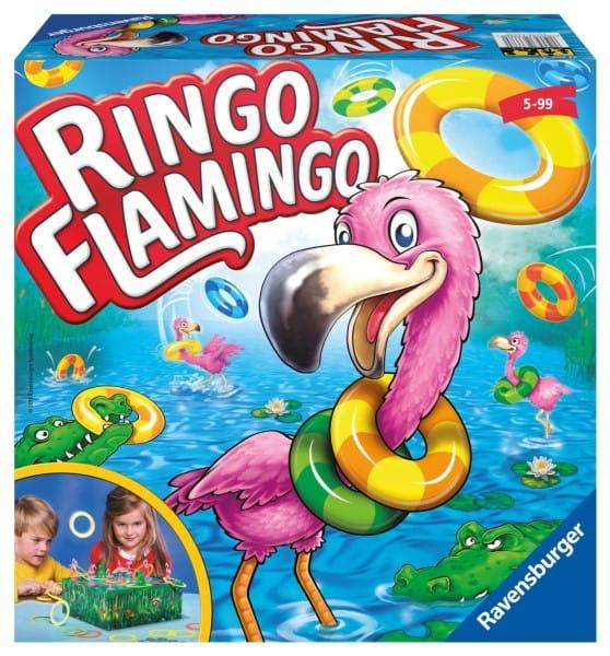 Настольная игра Ravensburger 22251 Фламинго Ринго (Ringo Flamingo)