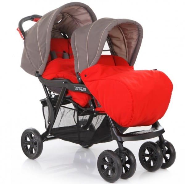 Купить Коляска для двойни Baby Care Tandem в интернет магазине игрушек и детских товаров