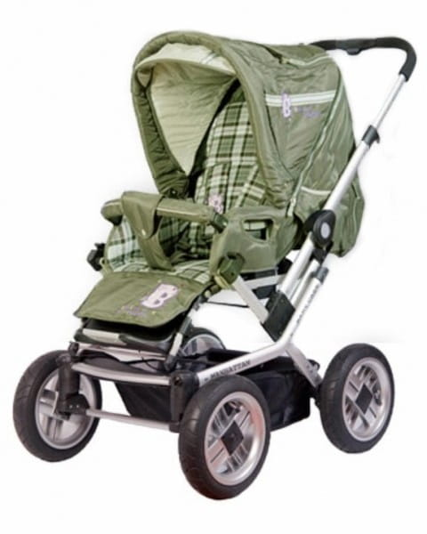 Купить Коляска-трансформер Baby Care Manhattan 60 Khakki в интернет магазине игрушек и детских товаров