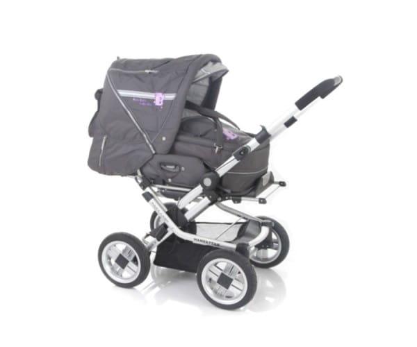 Купить Коляска-трансформер Baby Care Manhattan 60 Grey в интернет магазине игрушек и детских товаров