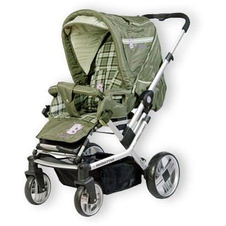 Купить Коляска-трансформер Baby Care Manhattan Air-4S Khakki в интернет магазине игрушек и детских товаров