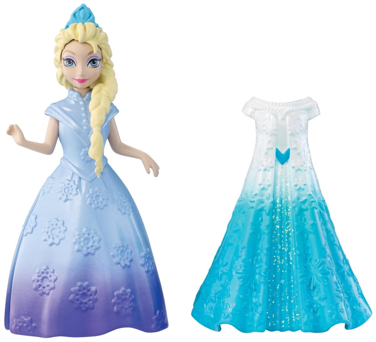 Кукла Disney Princess Y9969 Холодное сердце с дополнительным нарядом - Эльза (Mattel)
