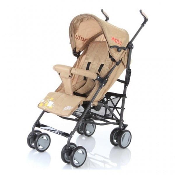 Купить Коляска-трость Baby Care In City Beige в интернет магазине игрушек и детских товаров