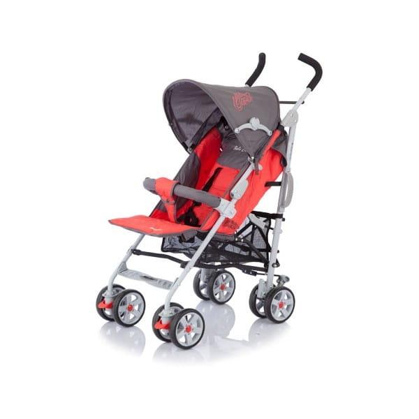Купить Коляска-трость Baby Care Polo Dark Red в интернет магазине игрушек и детских товаров
