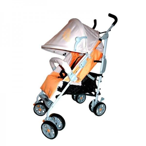 Купить Коляска-трость Baby Care Polo Orange в интернет магазине игрушек и детских товаров
