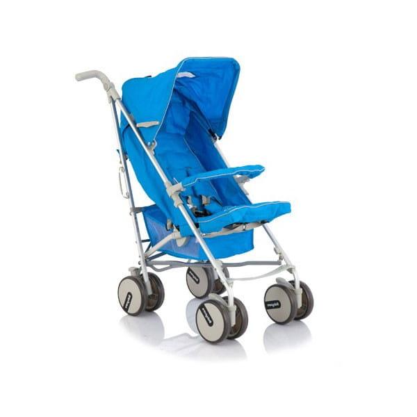 Купить Коляска-трость Baby Care Premier Blue в интернет магазине игрушек и детских товаров