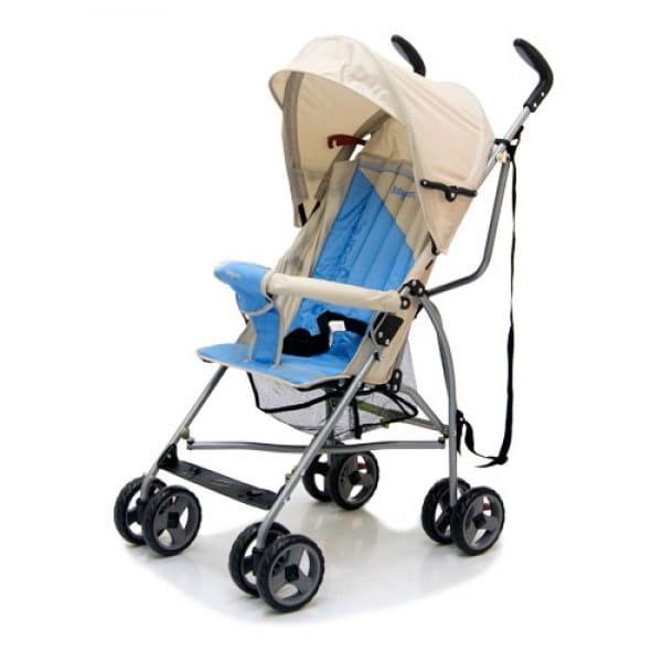 Купить Коляска-трость Baby Care Vento Light Grey-Blue в интернет магазине игрушек и детских товаров