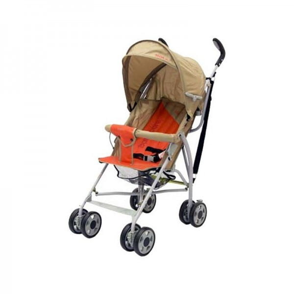 Купить Коляска-трость Baby Care Vento Light Grey-Terrakote в интернет магазине игрушек и детских товаров
