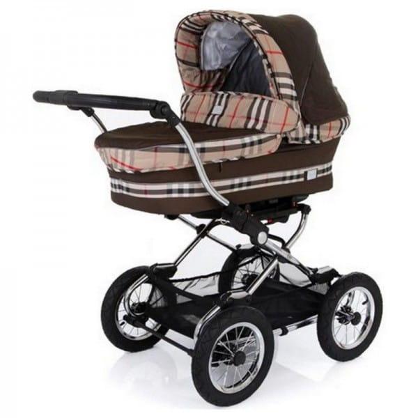Купить Коляска классическая Baby Care Sonata Coffee в интернет магазине игрушек и детских товаров