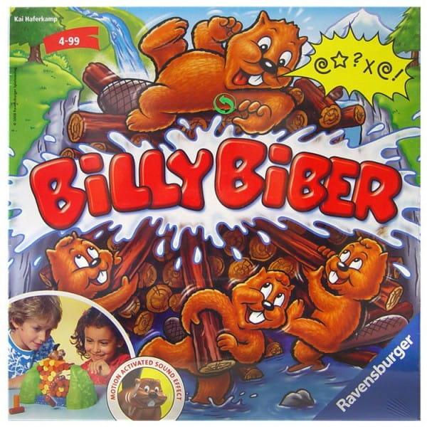 Настольная игра Ravensburger 21103 Веселый Вилли бобер (Billy Biber)