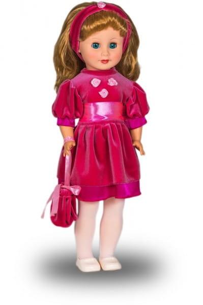 Кукла Весна Людмила в малиновом наряде (со звуком)