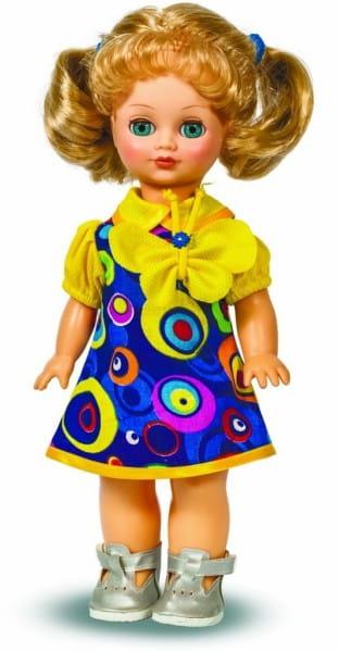 Кукла ВЕСНА Лена в цветастом платье (со звуком)