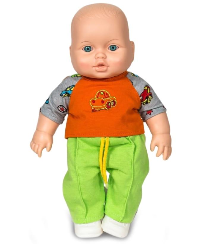Кукла-пупс ВЕСНА Малыш в салатовых штанишках