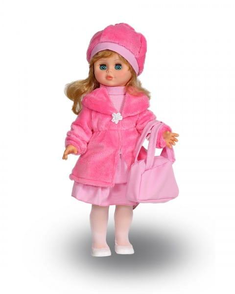 Кукла Весна Оля в розовом наряде и шапочке (со звуком)