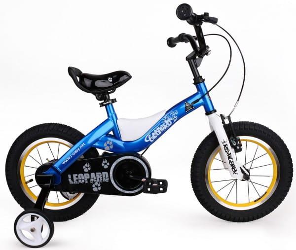 Купить Детский велосипед Royal Baby Leopard Steel - 18 дюймов в интернет магазине игрушек и детских товаров
