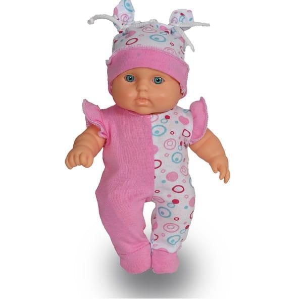 Кукла-пупс Весна В2869 Карапуз девочка в розовом комбинезоне