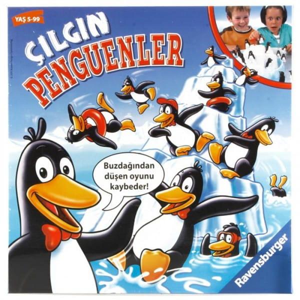 Настольная игра Ravensburger 22080 Пингвины на льдине
