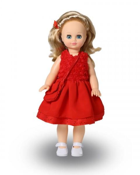 Кукла Весна Лиза в красном платье (со звуком)