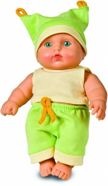 Кукла-пупс Весна В519 Карапуз мальчик в салатовом костюмчике