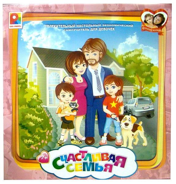 Настольная игра Радуга Счастливая семья