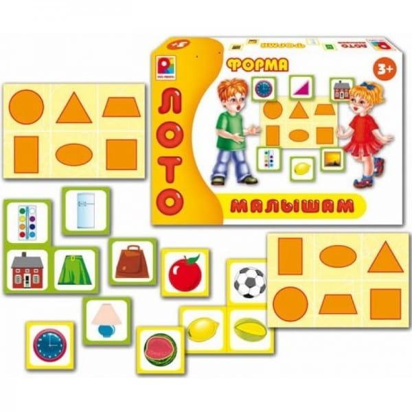 Купить Лото Радуга Форма в интернет магазине игрушек и детских товаров