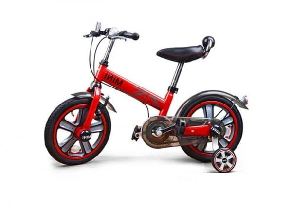 Купить Детский двухколесный велосипед Rastar - 14 дюймов (красный) в интернет магазине игрушек и детских товаров