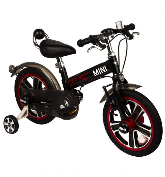 Купить Детский двухколесный велосипед Rastar - 14 дюймов (черный) в интернет магазине игрушек и детских товаров