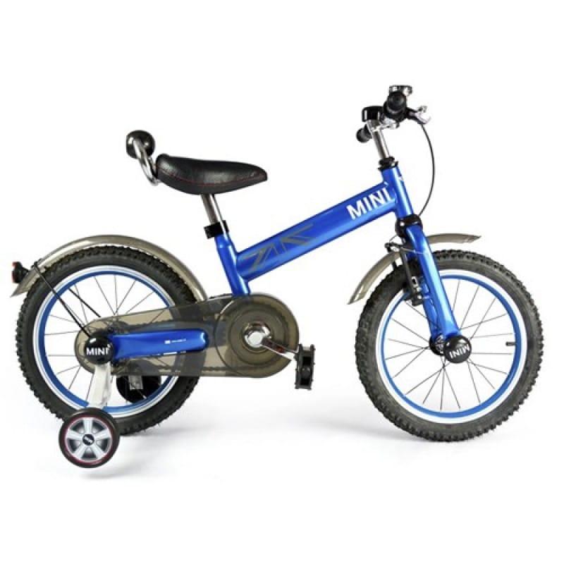 Детский двухколесный велосипед Rastar RSZ1602LA - 16 дюймов (синий)