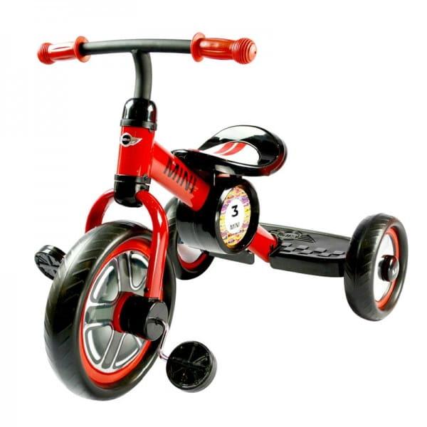 Детский трехколесный велосипед Rastar - 10 дюймов (красный)