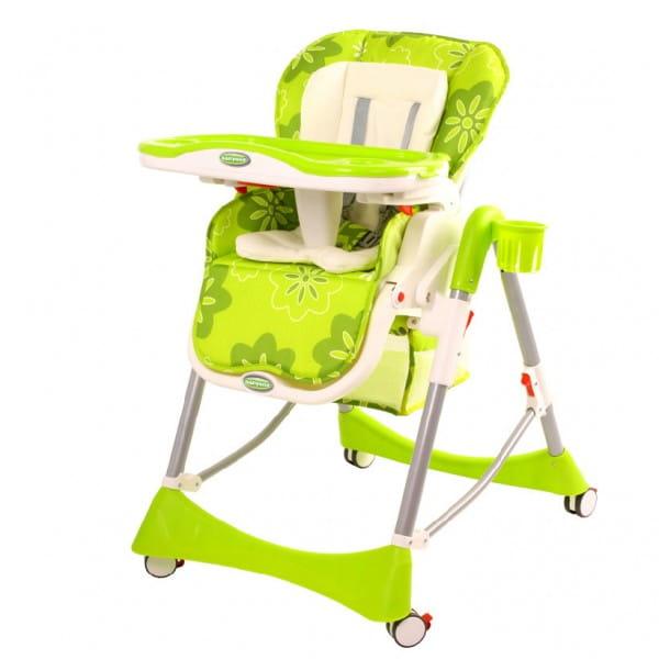 Стульчик для кормления BabyOne - зеленый