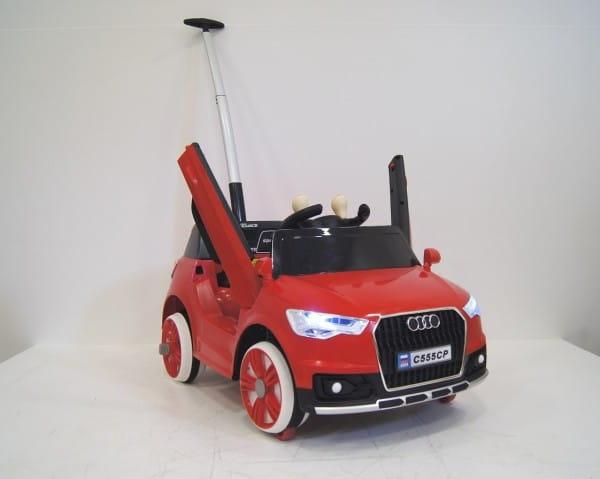 Купить Детский электромобиль-ходунки River Toys Audi С555СР в интернет магазине игрушек и детских товаров