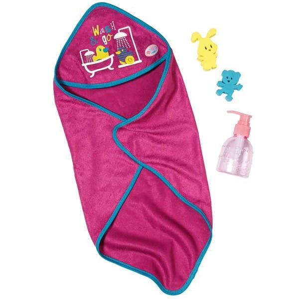 Купить Набор для купания Baby Born (Zapf Creation) в интернет магазине игрушек и детских товаров