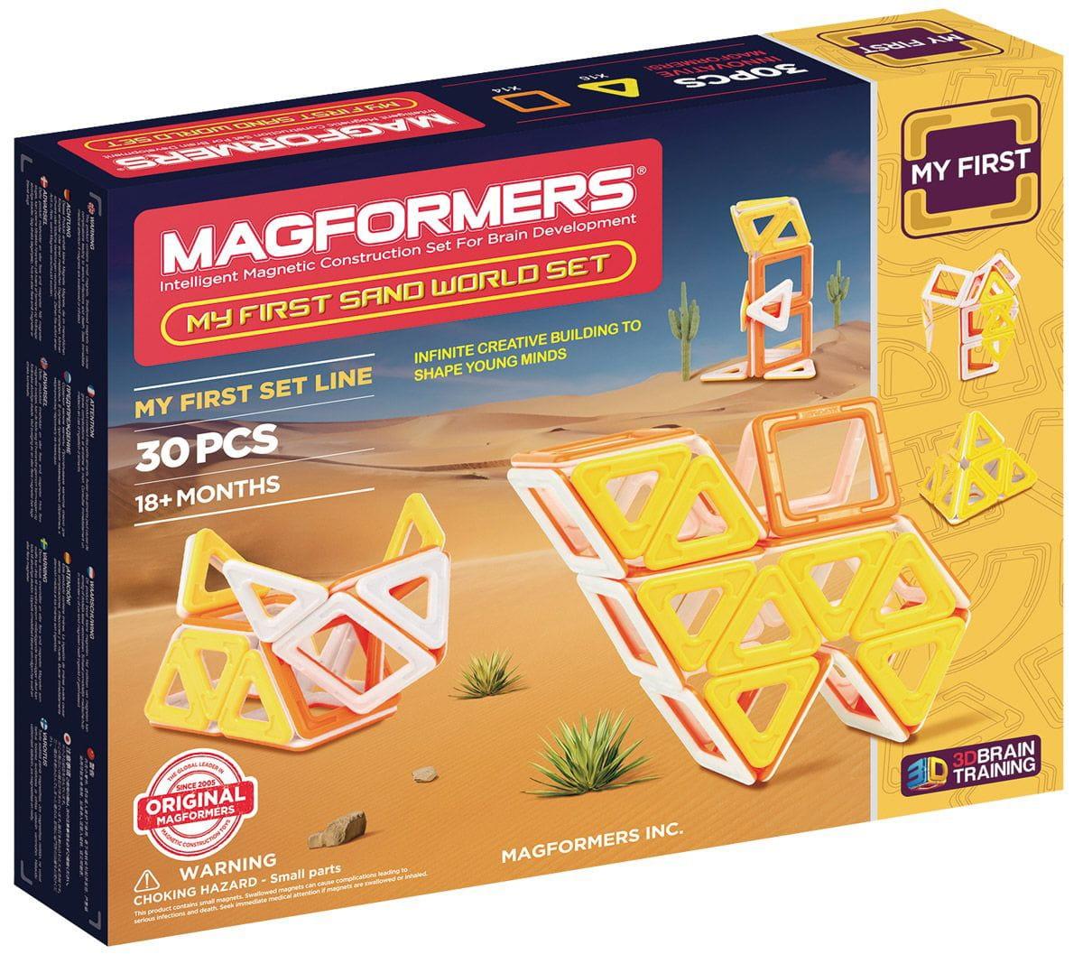 Магнитный конструктор Magformers 702010 My First Sand World (30 деталей)